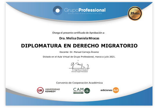 Certificado Grupo Professional